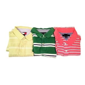 Bundle of 3 Tommy Hilfiger Polo Shirts